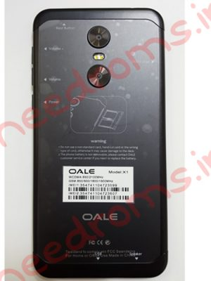 oale X1 MT6580 Firmware-needroms.ir